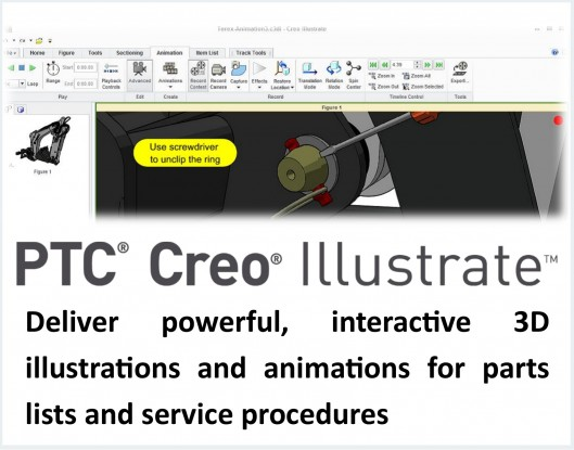 Creo Technical Illustration