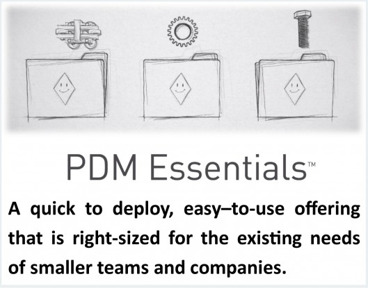PDM Enterprise for easy-to-deploy, simplified Product Data Management