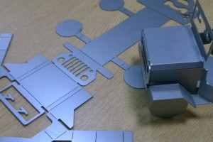 Flat and Developed sheet metal part
